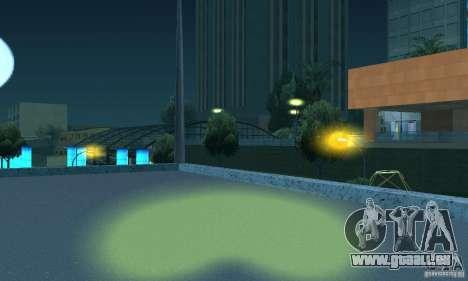 Phares jaunes pour GTA San Andreas cinquième écran