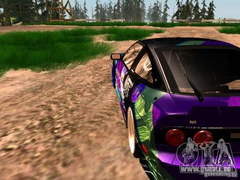 Nissan Sil80 Nate Hamilton pour GTA San Andreas vue de côté