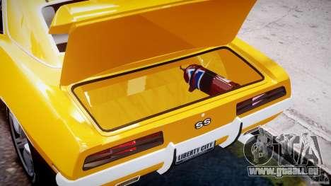 Chevrolet Camaro für GTA 4 Seitenansicht
