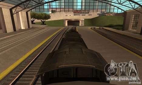 Lokomotive, 1941 für GTA San Andreas zurück linke Ansicht