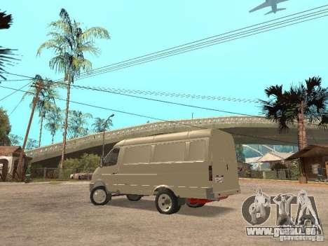 Gazelle 2705 pour GTA San Andreas vue de droite