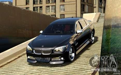 Écrans de menu et démarrage BMW HAMANN dans GTA  pour GTA San Andreas cinquième écran
