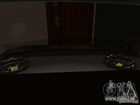 VAZ 2106 (Gold) für GTA San Andreas Innenansicht