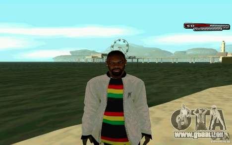 Jamaikanische HD-Haut für GTA San Andreas