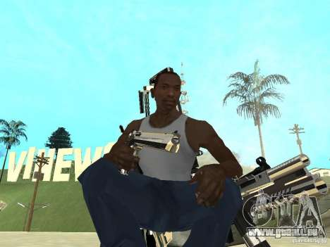 Weapons Pack pour GTA San Andreas