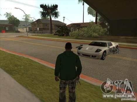 Le script CLEO : Super Car pour GTA San Andreas cinquième écran