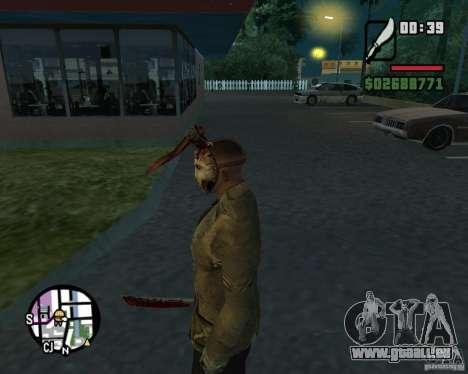 Jason Voorhees für GTA San Andreas dritten Screenshot