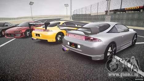 Mitsubishi Eclipse Tuning 1999 für GTA 4 obere Ansicht