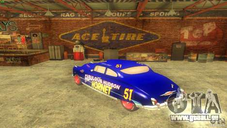 Hornet 51 für GTA San Andreas rechten Ansicht
