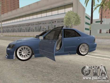 Lexus IS300 HellaFlush für GTA San Andreas linke Ansicht