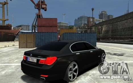 BMW 750 LI F01 v1.3 pour GTA 4 est un droit