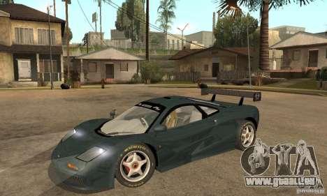 Mclaren F1 LM (v1.0.0) pour GTA San Andreas