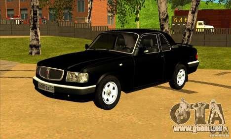 Volga GAZ 3110 berline pour GTA San Andreas