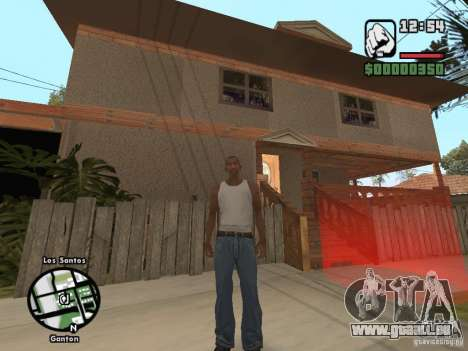 Nouvelle Džonsonov maison pour GTA San Andreas deuxième écran