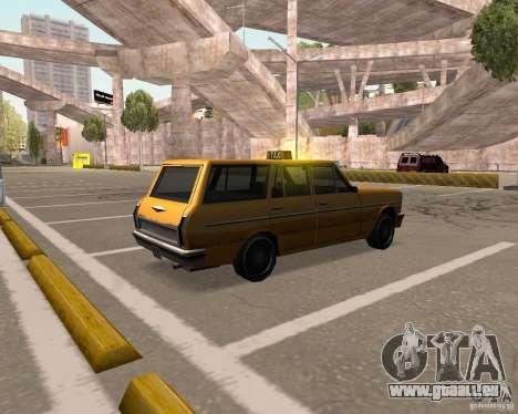 Perennial Cab für GTA San Andreas zurück linke Ansicht