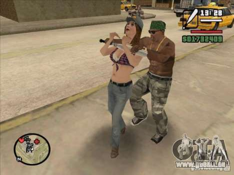 Briser la colonne vertébrale d'une chauve-souris pour GTA San Andreas troisième écran