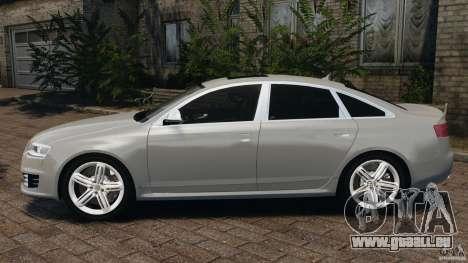 Audi RS6 2010 v1.1 pour GTA 4 est une gauche