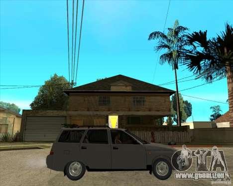 VAZ 2111 pour GTA San Andreas vue de droite