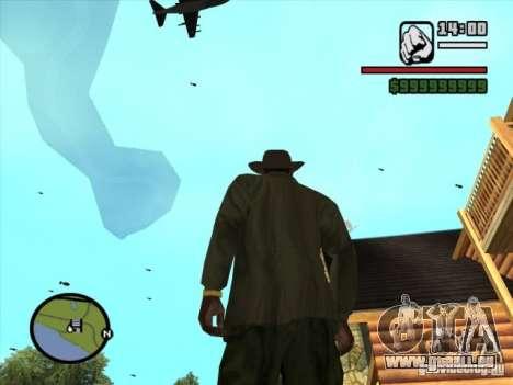 Appui aérien pour GTA San Andreas quatrième écran