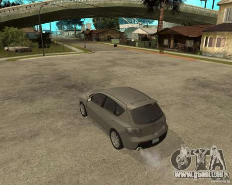 Mazda 3 Sport 2003 pour GTA San Andreas laissé vue