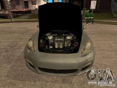 Porsche Panamera Turbo 2010 pour GTA San Andreas vue de droite