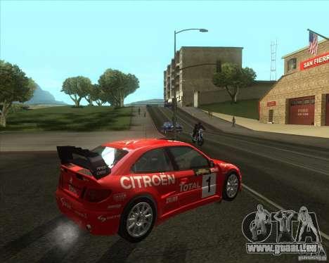 Citroen Xsara 4x4 T16 pour GTA San Andreas vue de droite