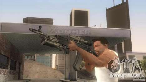 AK-47-v2 für GTA San Andreas her Screenshot