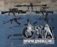 Pak-Arme von S. t. A. l. k. e. R für GTA San Andreas