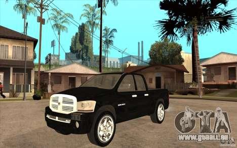 Dodge Ram 2500 2008 für GTA San Andreas