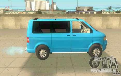 Volkswagen Caravelle pour GTA San Andreas laissé vue