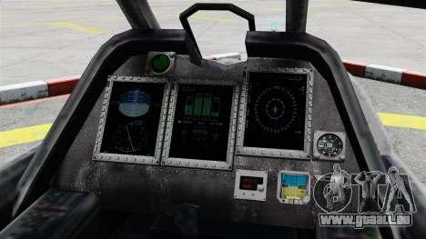 Hubschrauber C.E.L.L. für GTA 4 Rückansicht