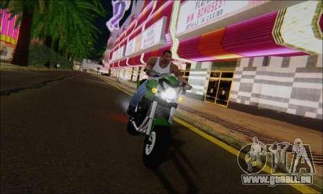 Honda CB600F Hornet 2012 pour GTA San Andreas vue de droite
