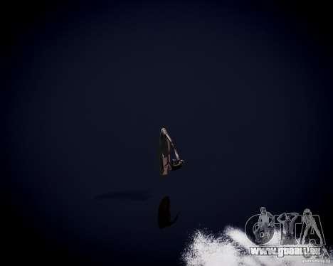 Jet Sky pour GTA 4 vue de dessus