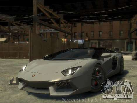 Lamborghini Aventador LP700-4 EPM pour GTA 4
