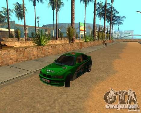 BMW 318i E46 2003 pour GTA San Andreas vue intérieure