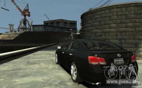 Lexus GS450 2006 für GTA 4 hinten links Ansicht