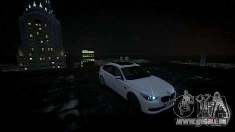 BMW GT F07 2012 GranTurismo pour GTA 4 est un droit
