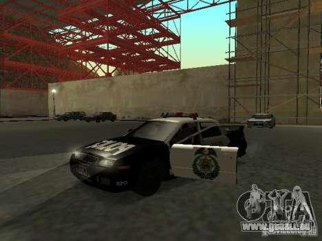 Police Civic Cruiser NFS MW für GTA San Andreas linke Ansicht