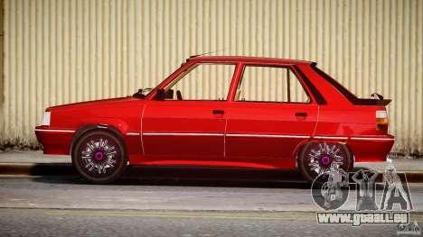 Renault Flash Turbo 11 pour GTA 4 est une vue de l'intérieur
