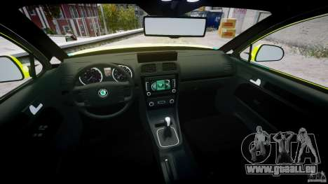 Skoda Octavia Scout Paramedic [ELS] pour GTA 4 est un côté