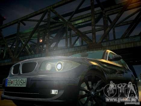 BMW 120i für GTA 4 Innen