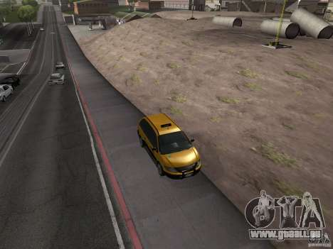 Chauffeur de taxi de GTA 4 pour GTA San Andreas vue de droite