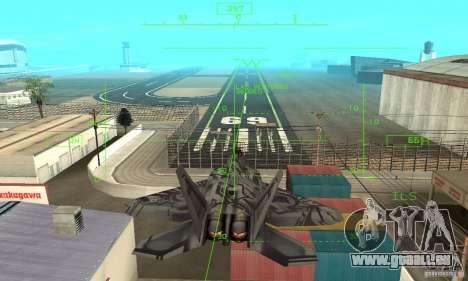 F-22 Starscream für GTA San Andreas Motor