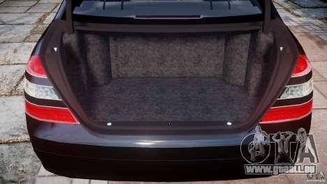 Mercedes-Benz S600 w221 pour GTA 4 est un côté