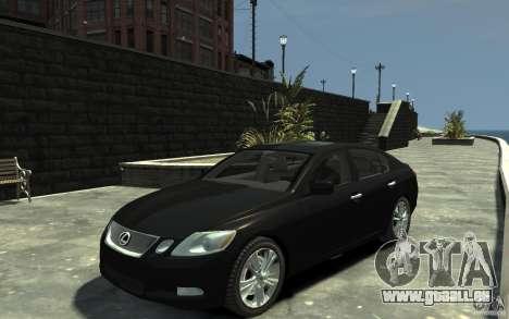Lexus GS450 2006 für GTA 4
