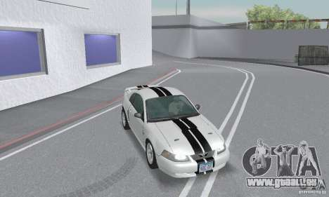 Ford Mustang GT 2003 für GTA San Andreas obere Ansicht