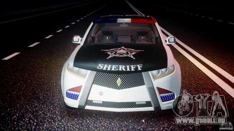 Carbon Motors E7 Concept Interceptor Sherif ELS pour le moteur de GTA 4
