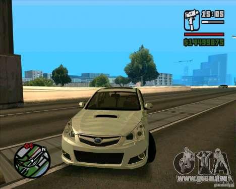 Subaru Legacy 2010 v.2 pour GTA San Andreas
