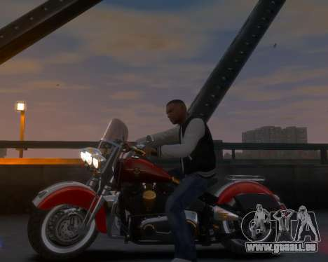 Harley-Davidson Fat Boy Lo (Vintage final) pour GTA 4