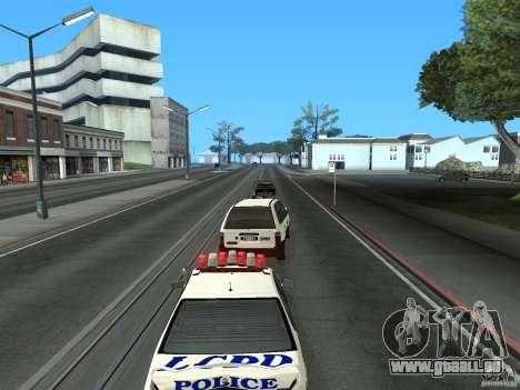 Chauffeur de taxi de GTA 4 pour GTA San Andreas vue arrière